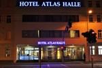 Отель Hotel Atlas Halle
