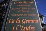 Гостевой дом Ca La Gemma i L'Isidre