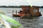 Отель Hausboot am Plauer See