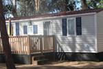 Отель Happy Camp mobile homes in Camping Thurium Villaggio