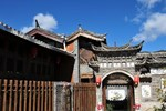 Lijiang Shuhe Ancient Town In Spring