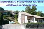 Апартаменты La Soleiade et ses 3 gîtes 15min de Cannes & St Raphael