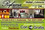 Отель Hotel y Cafeteria Reforma