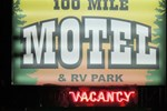 Отель 100 Mile Motel & RV Park