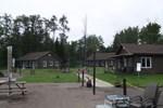 Отель Les Chalets Baie Cascouia