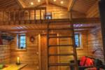 Апартаменты Cottage On Wild River In Lapland/Sweden