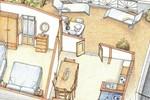 Апартаменты Le Terrazze sul Mare