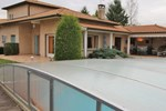 Апартаменты Four-Bedroom Holiday home Dommartin with an Outdoor Swimming Pool 04
