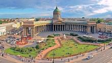У Казанского собора на Большой Конюшенной