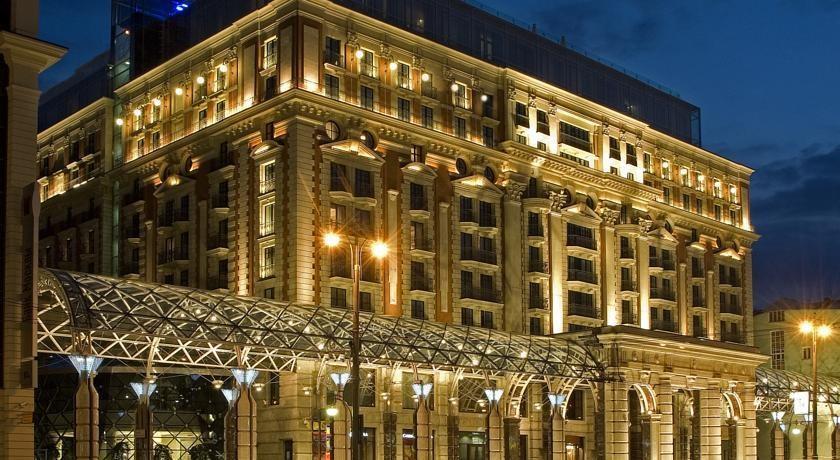ритц карлтон отель москва фото