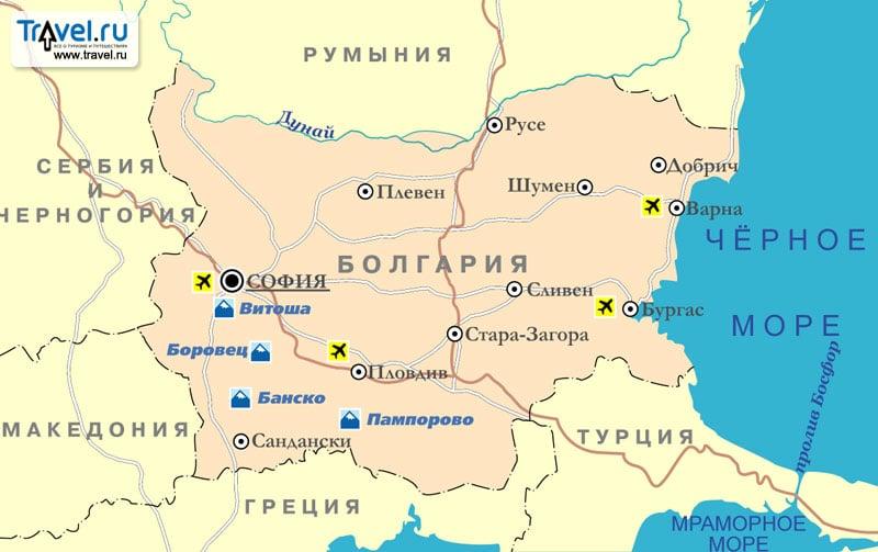 Лучшие курорты Болгарии Описание, фото и цены