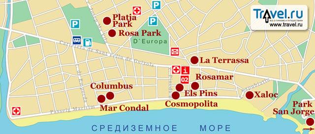 Платья де аро испания на карте