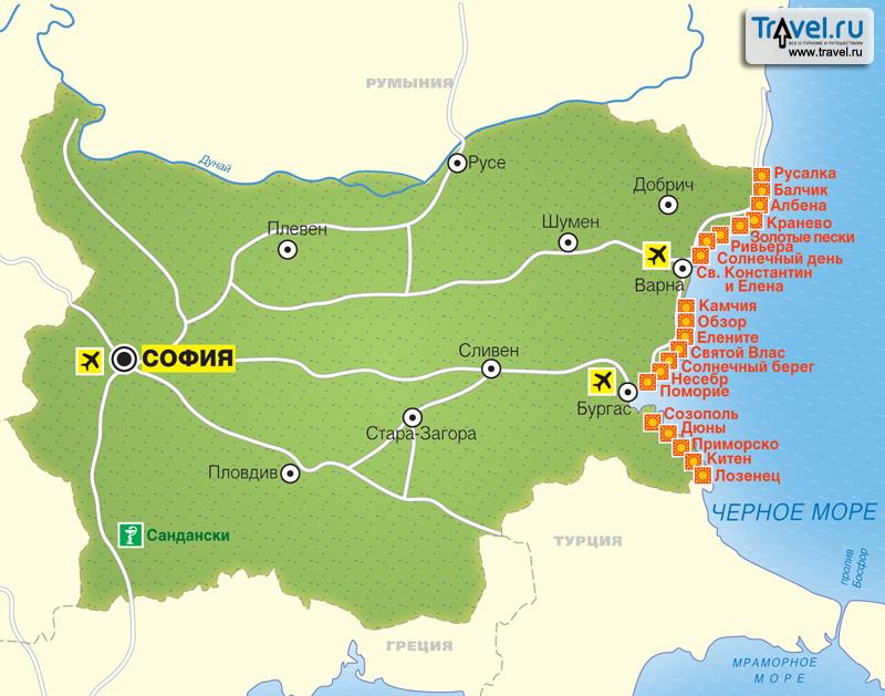 Все гостиницы курортов Болгарии | Компания «НТА»