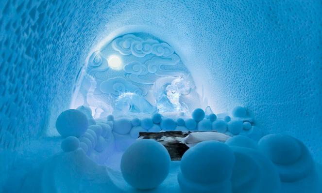 Крупнейший в мире ледяной отель откроется в Швеции