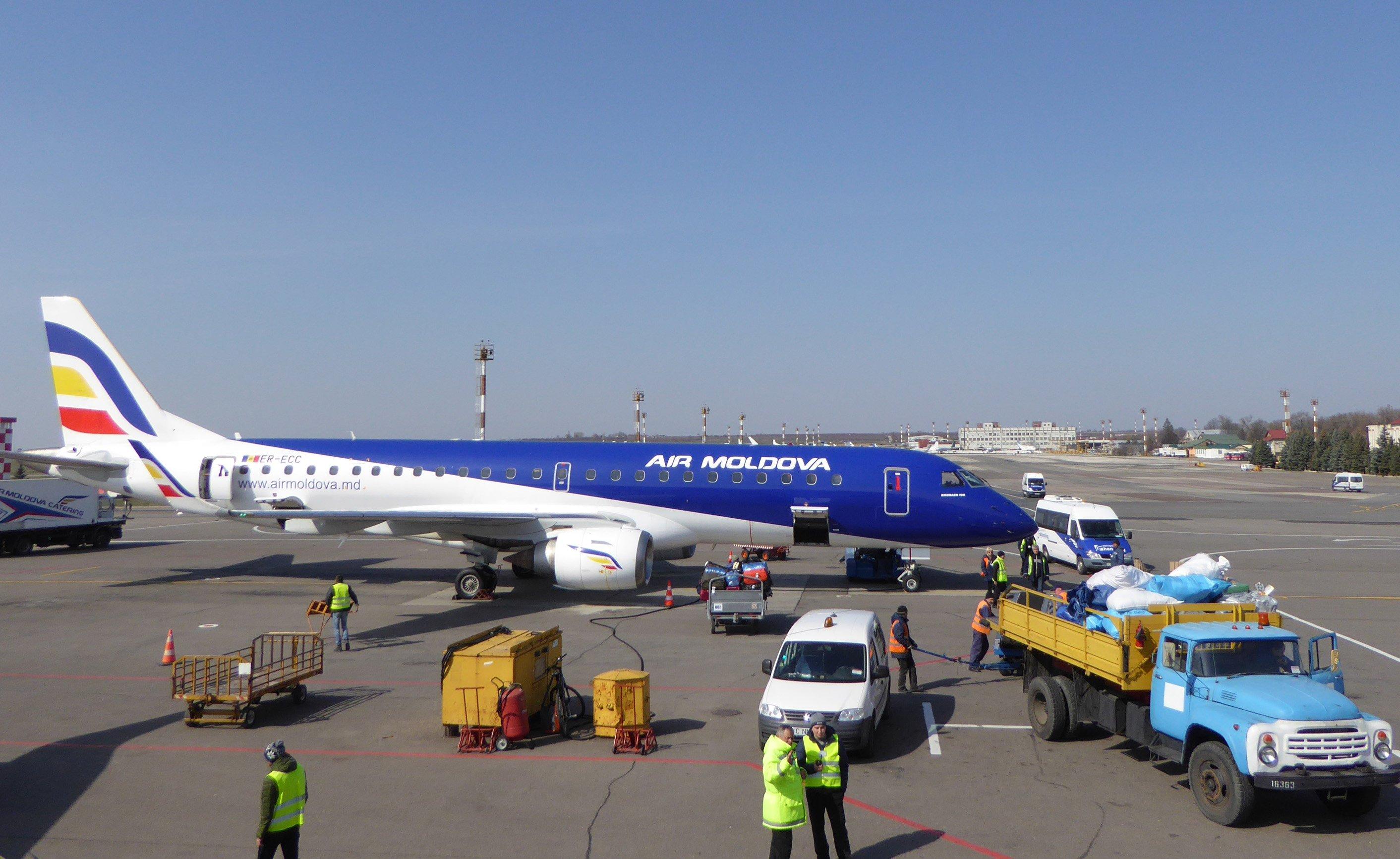 Air Moldova будет летать из Кишинёва в Екатеринбург
