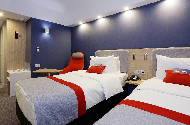 В Москве открылся новый отель Holiday Inn Express