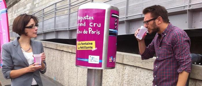 Париж бесплатно предоставит туристам газированную воду