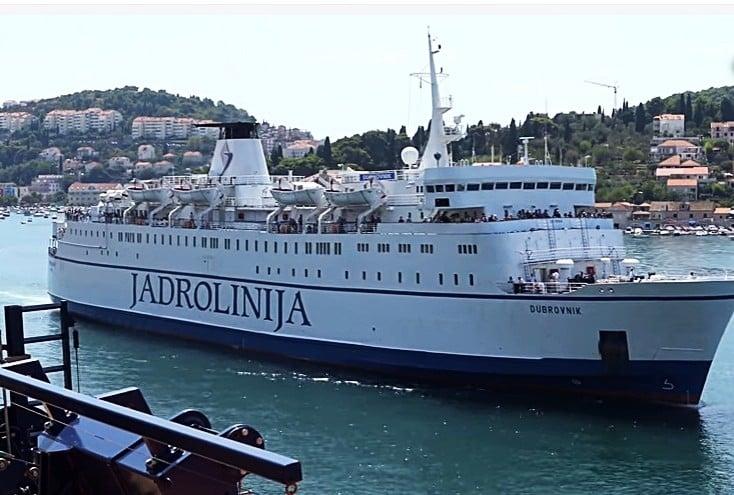 Паромное сообщение между Черногорией и Италией вновь прервано