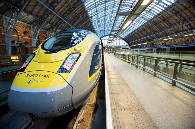 Поезда Eurostar будут ездить из Лондона в Амстердам с апреля
