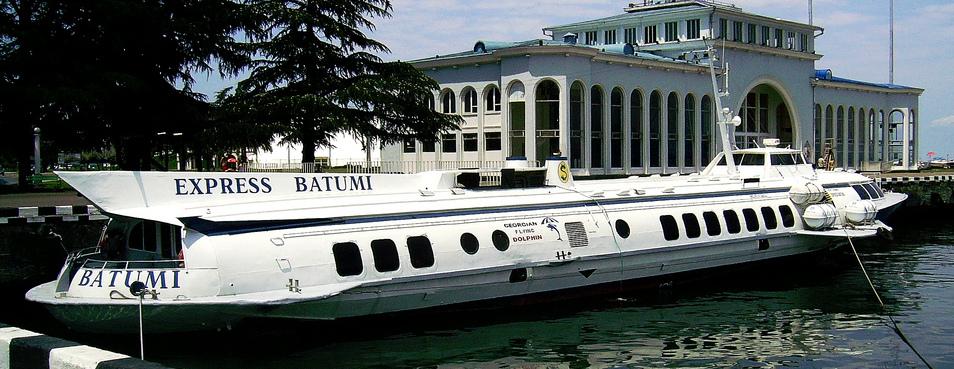 Возобновляются морские перевозки между Сочи и Батуми