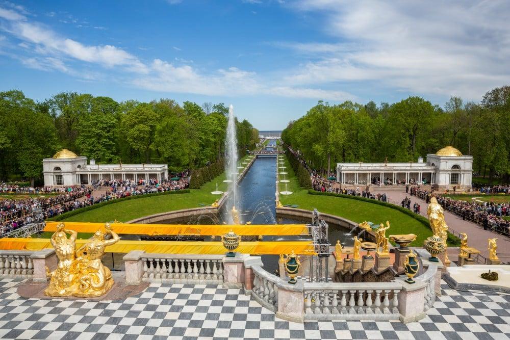 Петергоф откроет сезон фонтанов 27 апреля