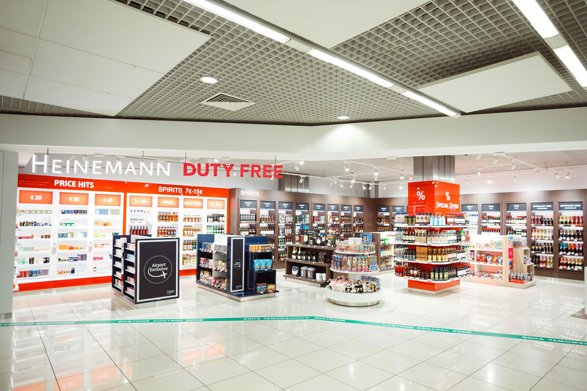 В зоне прилета аэропорта Кольцово открылся магазин DutyFree