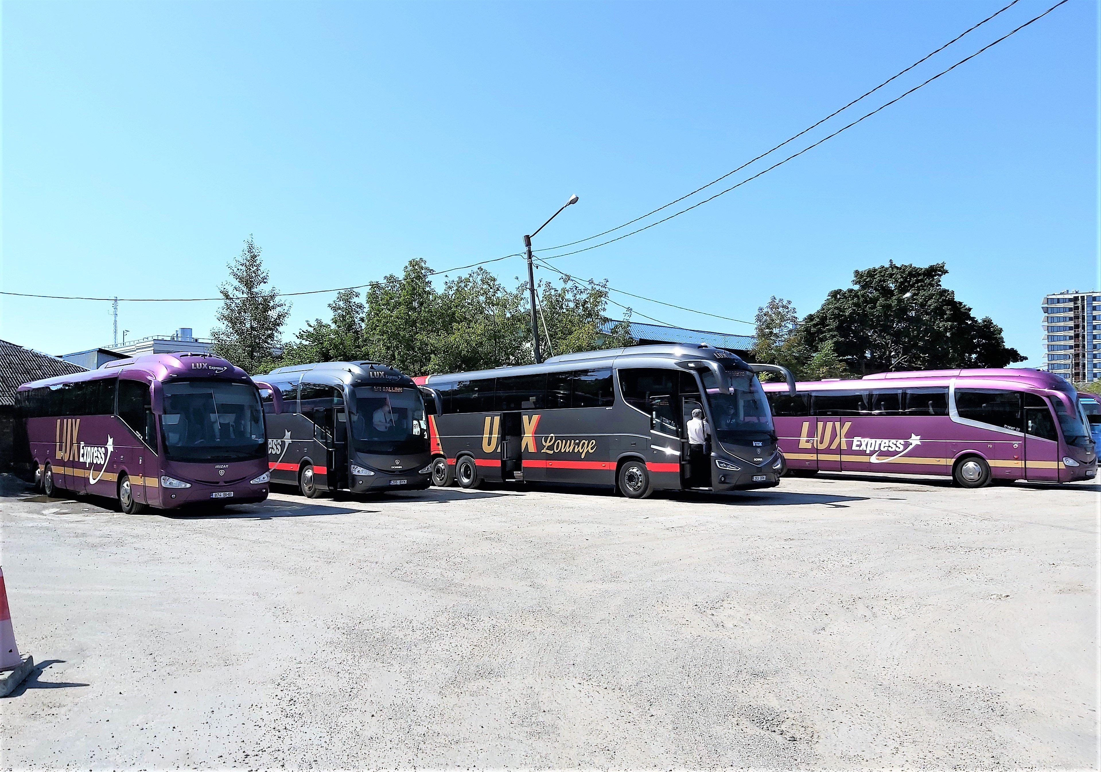 """Lux Express: """"Российские пошлины мешают нам открыть автобусные перевозки внутри России"""""""
