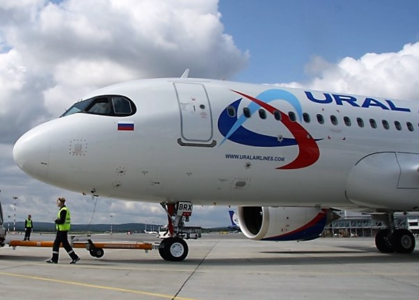 """Уральские авиалинии"" поставят Airbus A320neo на три маршрута"