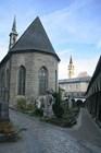 Часовня на кладбище святого Петра