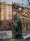 Фрагмент фонтана в Инсбруке