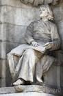 Памятник Ференцу Листу перед зданием Венгерской государственной оперы