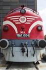 Локомотив NOHAB - экспонат Венгерского музея транспорта