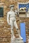Давид Микеланджело перед входом в Палаццо Веккьо