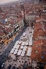 Средневековая ярмарка на Пьяцца-дель-Эрбе