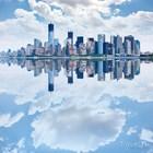 Панорамный вид Нижнего Манхэттена