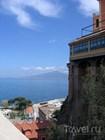 Вид на Неаполитанский залив со скал Сорренто