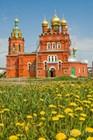 Свято-Никольская церковь конца XIX века в селе Кулаково в 15 км от Тюмени