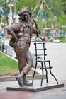 Памятник клоуну Олегу Попову