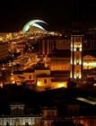 Вид на ночной Санта-Крус-де-Тенерифе