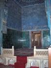Внутри мечети Ешиль-Камыи