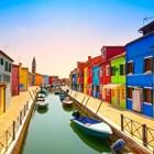 Знаменитые цветные дома о.Бурано