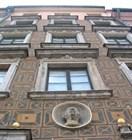 Один из самых известных домов Старого Города называется 'Под негром'