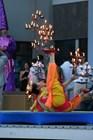 Шоу во время церимонии открытия
