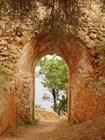 Полуразрушенный форт