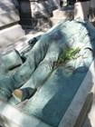 Памятник скандальному журналисту Виктору Нуару