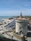Вид из башни Сен-Николя на башни Цепи и Лантерн