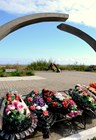 "Монумент ""Разорванное кольцо"" в деревне Коккорево"