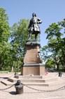 Памятник Петру Великому в Петровском саду