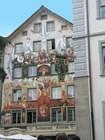 Расписное здание в Люцерне