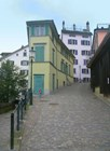 Улочки и дома в Цюрихе